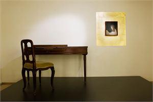Tisch in Mozarts Geburtshaus