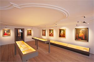 Ausstellung in Mozarts Geburtshaus