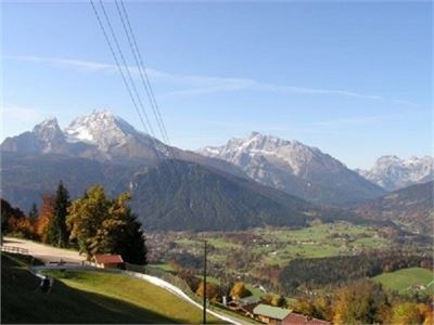 Großartiger Panoramablick von der Obersalzbergbahn