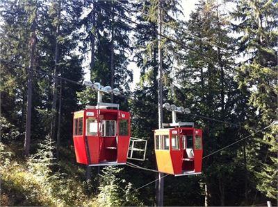 In zehn Minuten hinauf auf den Obersalzberg