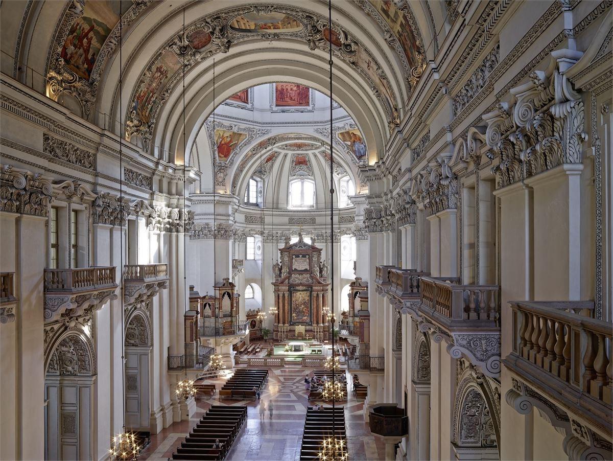 Das DomQuartier in der Mozartstadt Salzburg