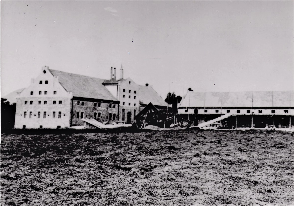 Stieglbrauerei in Maxglan nach der Fertigstellung 1863