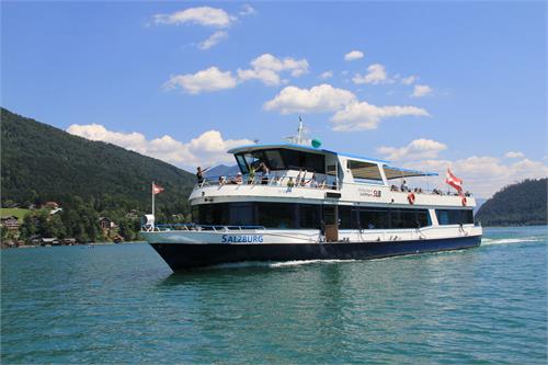 TIP: Boat trip on Lake Wolfgangsee  | Abersee | St. Gilgen | St. Wolfgang | Strobl