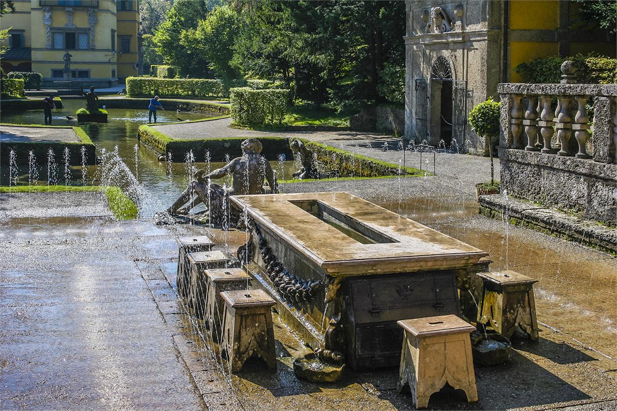 Hellbrunn Palace & Trick Fountains | Anif