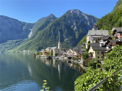 The Salzkammergut Lake District Bike Trail
