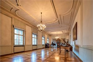 Ball room in the Mozart Residence