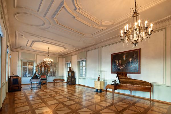 Instruments in the Mozart Residence
