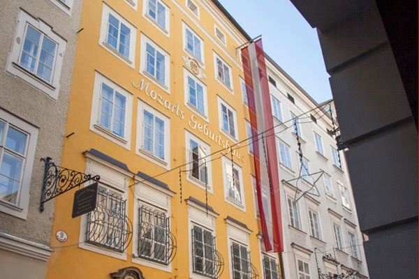 Mozart´s Birthplace in Salzburg