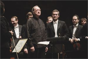 Nikolaus Harnoncourt at Mozart week 2016 in Salzburg